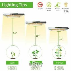 Mars Hydro TS 3000W LED Grow Light Spectrum + 5'x5'x6.5' Indoor Tent Veg Flower