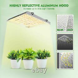 Mars Hydro TS 3000W LED Grow Light Sun Spectrum for Indoor Plants Veg Flower IR