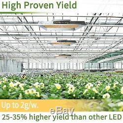 Mars Hydro TS 3000W Led Grow Light Veg Flower Plant+5'x5' Indoor Grow Tent Kit