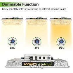 Mars Hydro TS 600W 1000W 2000W 3000W LED Grow Light Indoor Tent for Veg Flowers