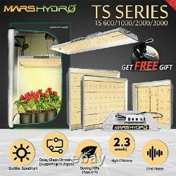 Mars Hydro TS 600W 1000W 2000W 3000W LED Grow Light Kit Full Spectrum VEG&Bloom