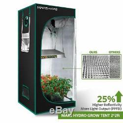 Mars Hydro TS 600W LED Grow Light Full Spectrum Veg Flower Indoor Plants Lamp
