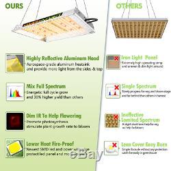 Mars Hydro TS 600W LED Grow Light Full Spectrum Veg Flower for Home Indoor Plant