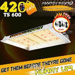 Mars Hydro TS600W LED Grow Light Sunlike Full Spectrum Hydroponics Veg Flower