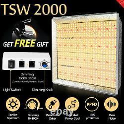 Mars Hydro TSW 2000W LED Grow Lights Full Spectrum for Indoor Plants Veg Flower