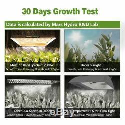 Mars Hydro TSW 2000W set LED Grow Lights Hydroponics Lamp Indoor Veg Flowering