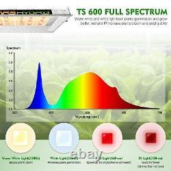 MarsHydro TS 600W LED Grow Light Sunlike Full Spectrum Veg Bloom for Hydroponics