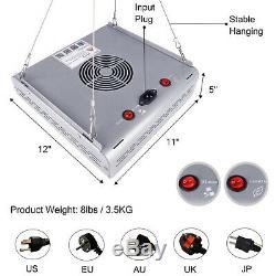 Newest Mars Hydro Pro II 400W LED Grow Light for Plant Indoor Lamp Veg Flower IR