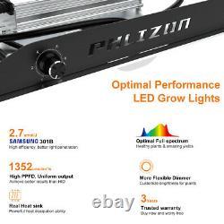 PHLIZON 3000W for Veg Flower SAMSUNG Commercial Grow Light Full Spectrum 5x5FT