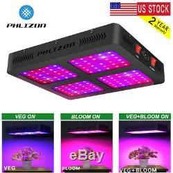 Phlizon 1600w-2200w Full Spectrum LED Grow Light Flowering Seed Tent Hydro Lamp