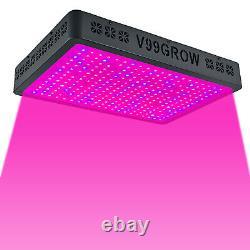 Remote Control 8000W LED Grow Light Lamp Full Spectrum Indoor Plants Veg Flower