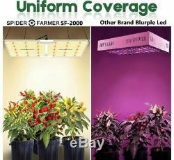 SF 2000W LED Grow light Sunlike Vollspektrum Veg Bloom Indoor Lampe NEU ORIGINAL