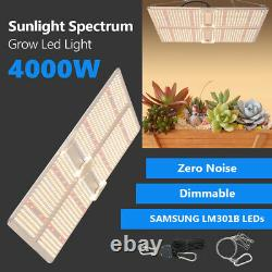 SF 4000W LED Grow Light Samsungled LM301B Indoor All Stage Veg Flower UK Stock