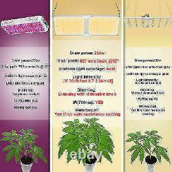 SUNSHINE FARMRE 2X2000W LED Grow Light Plants Veg Flower Full Spectrum Veg