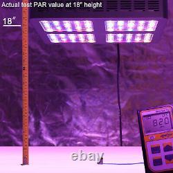 Senelux LED Grow Light, Veg and Bloom Switch Full Spectrum 300W 450w, 600w 1200w