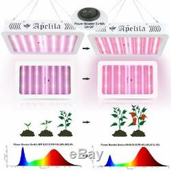 Set of 2 2000W Led Grow Light Full Spectrum For All Indoor Plant Veg Flower Lamp