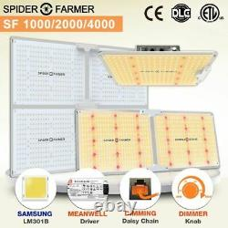 Spider Farmer 1000W 2000W 4000W LED Grow light Sunlike Full Spectrum Veg Bloom