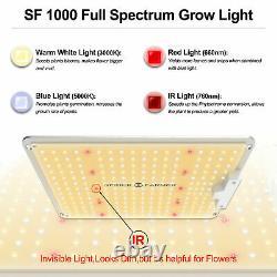 Spider Farmer 1000W LED Grow Light Samsungled LM301 Full Spectrum Veg Flower