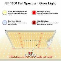 Spider Farmer 1000W LED Grow Light Samsungled LM301B Veg Flower Indoor Plants