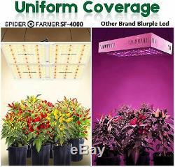 Spider Farmer 4000W LED Grow Light Samsungled LM301B Indoor All Stage Veg Flower