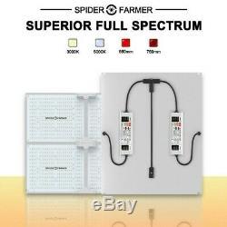 Spider Farmer SF-4000 450W LED Grow Light With Samsung LM301B Indoor Veg/Flower