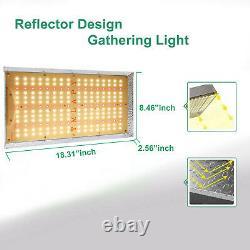TMLAPY 2x 1000W LED Grow Light Sunlike Full Spectrum for Indoor Veg Plant Lamp
