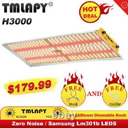 TMLAPY 3000W LED Grow Light Sunlike Full Spectrum Veg&Bloom Switch Indoor Plant