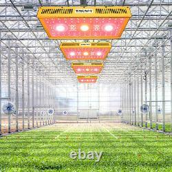 TMLAPY COB 1500W LED Grow Light Full Spectrum Indoor Plant Grow Lamp Panel Veg