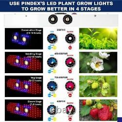 TS 2000W LED With 2COB Full Spectrum LED Grow Light Indoor Plants Veg Flower Panel