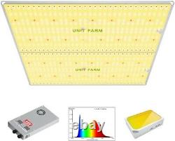 Unit Farm UF 4000 LED Grow Light Full Spectrum UV IR Indoor Plant Veg Flower