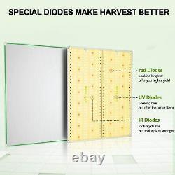 Unit Farm UF 4000W LED Grow Light Full Spectrum for Indoor Plants Veg Flower Kit