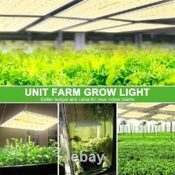 Unit Farm UFL 3000W LED Grow Light Full Spectrum for Indoor Plant Veg Flower HPS