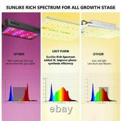 Unit Farm UFS 3000W LED Grow Light Full Spectrum Indoor Plants Veg Flower Kit