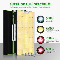 VIPARSPECTRA 1-3PCS P2000 LED Grow Light Full Spectrum for All Plants Veg Flower