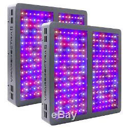 VIPARSPECTRA 2PCS 1200W LED Grow Light Full Spectrum for Indoor Plant Veg/Flower