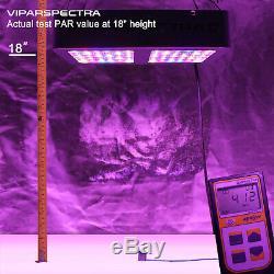 VIPARSPECTRA 2pcs 300W LED Grow Light Full Spectrum for Plants Veg and Flower