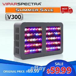 VIPARSPECTRA 300W LED Grow Light Full Spectrum Veg Flower for Hydroponics Plants