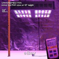 VIPARSPECTRA 600W LED Grow Light Full Spectrum for Hydroponic Plant Veg Flower
