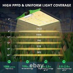 VIPARSPECTRA P1000 LED Grow Light Full Spectrum for Indoor Home Plant Veg Bloom