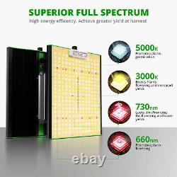 VIPARSPECTRA P1000 LED Grow Lights for Indoor Plants Veg Flower Replace HPS HID
