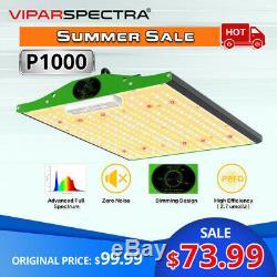VIPARSPECTRA P1000 P1500 P2000 P2500 LED Grow Light Full Spectrum for Veg Flower