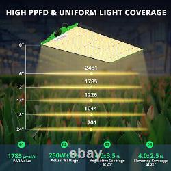 VIPARSPECTRA P2500 1-3PCS LED Grow Light Full Spectrum for Plants Veg Flowers