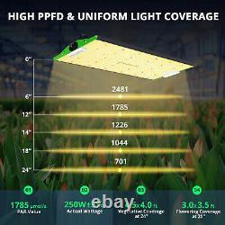 VIPARSPECTRA P2500 LED Grow Light Full Spectrum for Plants Veg Flower Hydroponic