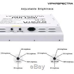 VIPARSPECTRA PAR1200 1200W Led Grow Light Veg&Bloom Dimmers for Hydroponic Plant