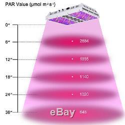 VIPARSPECTRA PAR1200 2pcs1200W Full Spectrum LED Grow Light VEG BLOOM Dimmers