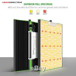VIPARSPECTRA Pro Series P1500 LED Grow Light Sunlike Full Spectrum for Veg&Bloom
