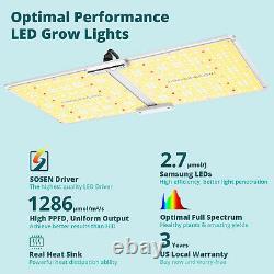 VIPARSPECTRA VB2000 2000W LED Grow Light Full Spectrum for Plants Veg Flowering