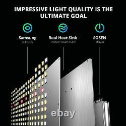 VIPARSPECTRA VB2000 LED Grow Light Full Spectrum Samsung LED for Veg Bloom Plant