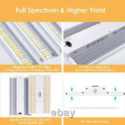 VIPARSPECTRA VP2000W LED Grow Light for Indoor Plants Veg Flower Replace HPS HID