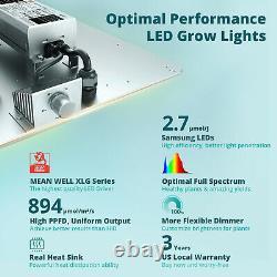 VIPARSPECTRA VS1000 LED Grow Light Full Spectrum Samsung LM301B for Veg Flowers